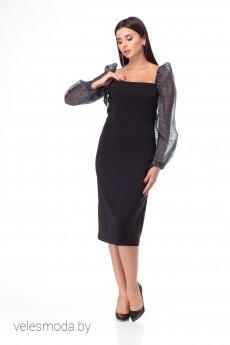 Платье 904 черный Anelli
