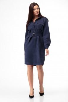 Платье 949 синий Anelli