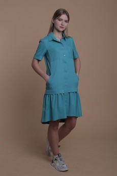 Платье 045 бирюза AnnLine