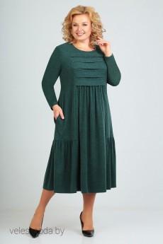 Платье 2443 зеленый Асолия