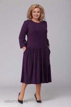 Платье 2439 баклажан Асолия