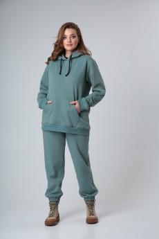 Спортивный костюм 2081 шалфей BLISS