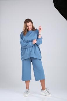 Костюм с шортами 2650 стальной синий BLISS