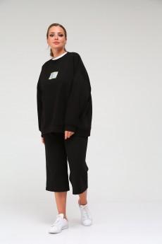 Костюм с шортами 2650 черный BLISS