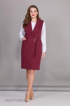 Комплект с платьем - Багряница