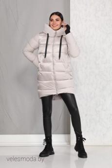 Пальто 4009 светло-серый Beautiful&Free