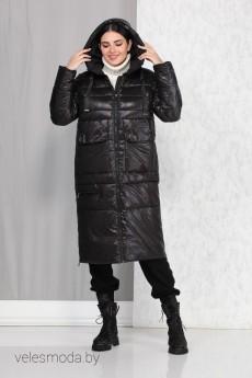 Пальто 4013 черный Beautiful&Free
