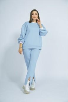 Спортивный костюм 3018 голубой BegiModa