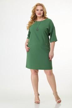 Платье 137 зеленый БелЭльСтиль