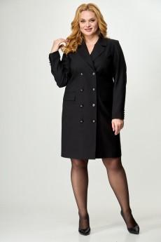 Платье 852 черный БелЭльСтиль