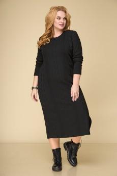 Платье 856 черный БелЭльСтиль