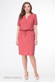 Платье 1239 коралловый БелЭкспози