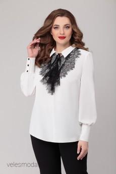 Блузка 1243 белый БелЭкспози