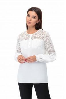 Блузка 1366 молочный БелЭкспози