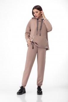Спортивный костюм 1387 бежевый БелЭкспози