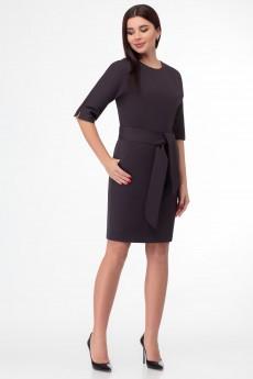 Платье 1396 коричневый БелЭкспози