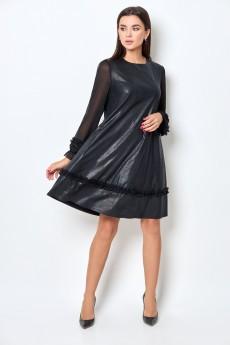 Платье 1428 черный БелЭкспози
