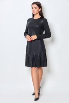 Платье 1429 черный БелЭкспози