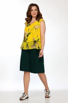 Блузка 5100 желтый Belinga