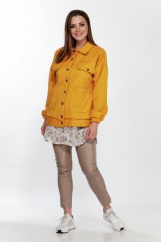 Куртка 5124 желтый Belinga