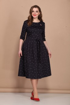 Платье 406 тёмно-синий Bonna Image
