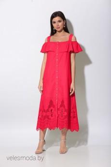 Платье 413 красный Bonna Image
