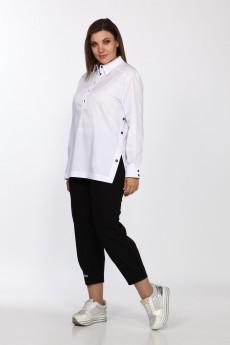 Блузка 597 белый Bonna Image