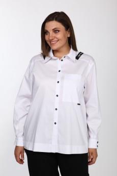 Блузка 598 белый  Bonna Image