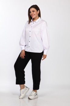 Блузка 600 белый Bonna Image