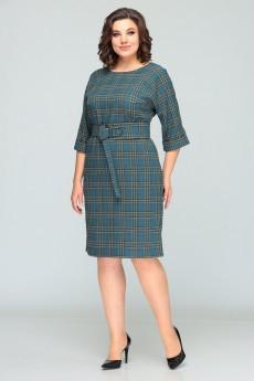 Платье 620 бирюза Bonna Image