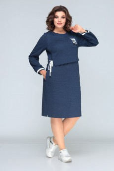 Платье 622 синий Bonna Image