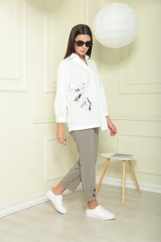 Костюм брючный 2023 Chumakova Fashion