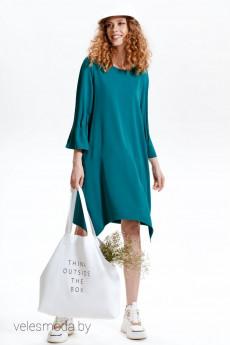 *Платье 50132 изумруд Corsa