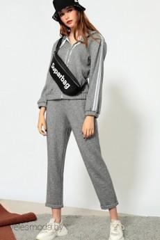 Спортивный костюм 5.789 серый DIVINA