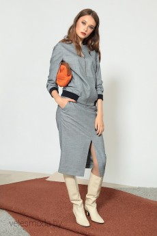 Куртка 3.130 серый DIVINA