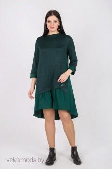 Платье 1473 зеленый Daloria