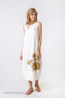 Платье 1498 молоко Daloria