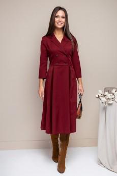 Платье 1703 бордовый Daloria