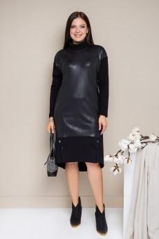 Платье 1724 черный Daloria