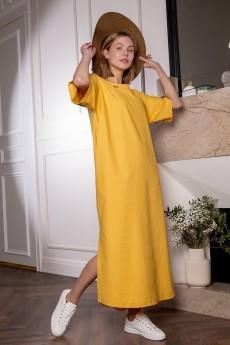 Платье 1758 светло-желтый Daloria