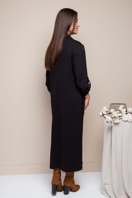 Платье 1776 черный Daloria