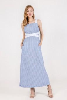 Платье 5016 синий + белый Daloria