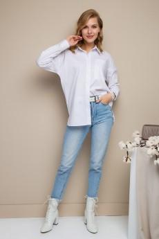 Блузка 6145 белый Daloria