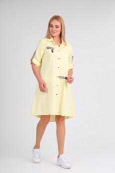 Платье 2023 жёлтый Danaida