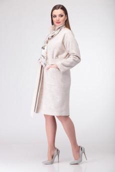Пальто+платье 913 Deluiz N