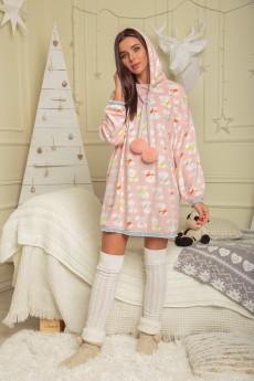 Платье домашнее 893 Deluiz N