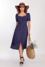 *Платье 1719-2 синий DilanaVIP