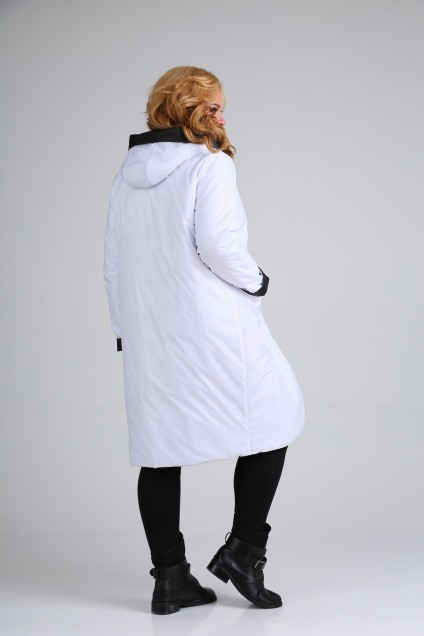 Куртка 1328 черно-белый Diamant