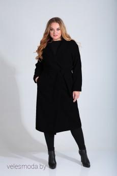 Пальто 1534 черный Diamant