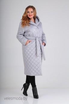 Пальто 1549 серый Diomant